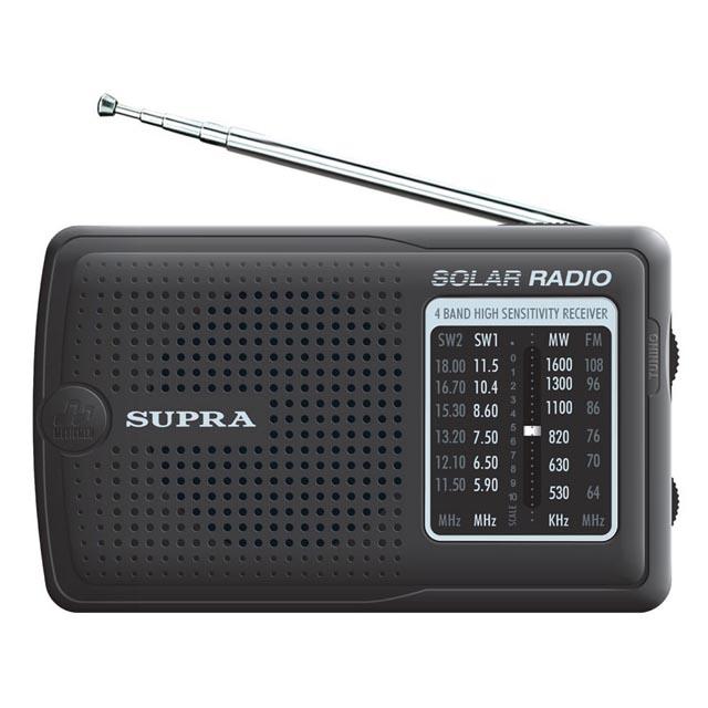 радиоприемник SUPRA ST-111 black радиоприемник supra st 125 черный