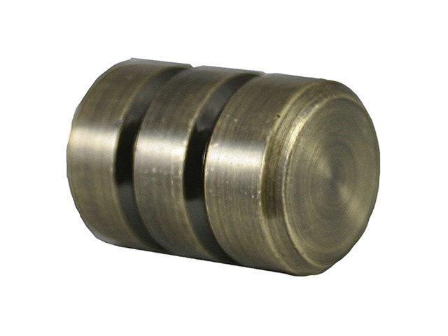 комплект наконечников УЮТ Ост 20мм цилиндр-2 2шт бронза, арт.22.21.2470.