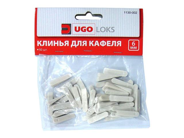 клинья для кафеля большие UGO LOKS 37х6мм 50шт