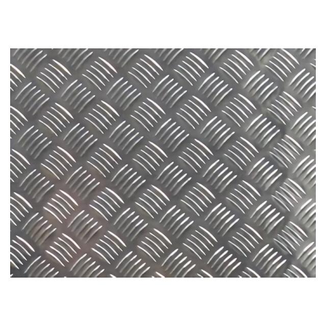 лист алюминиевый рифленый без покрытия 1,5х600х600мм