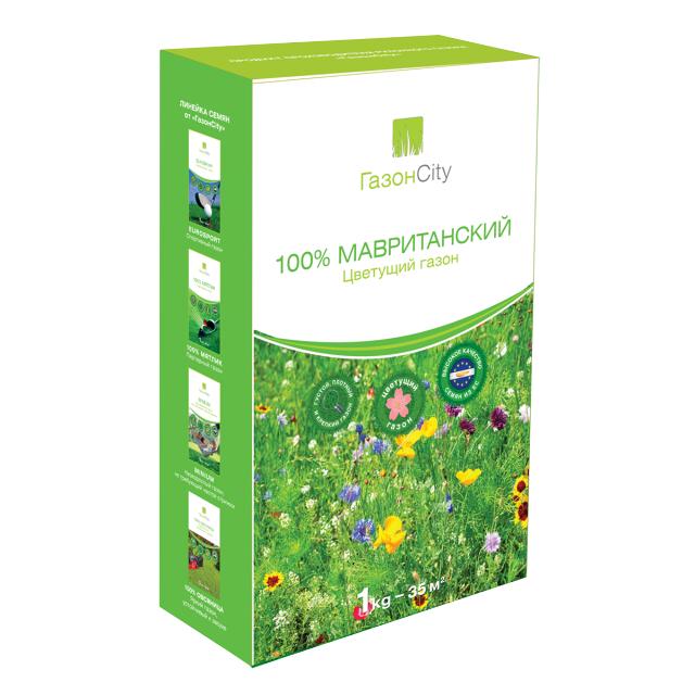 семена газонной травы Мавританский 100% 1кг семена газонной травы плейграунд 1кг
