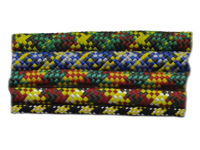 шнур 6 мм, полипропилен, повышенной плотности, цветной