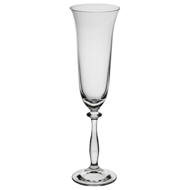набор бокалов CRYSTALEX Ангела без декора 6шт 190мл шампанское стекло