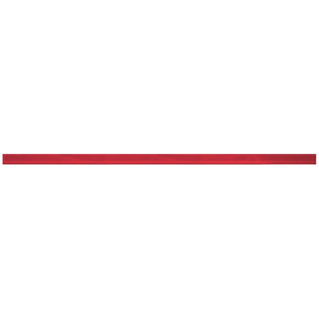 бордюр настенный 60х2 Соло 1 стеклянный, красный
