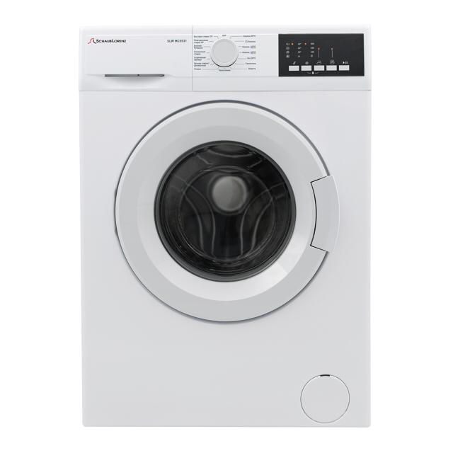 машина стиральная SCHAUB LORENZ SLW MС5531 4кг/800об/36см бел.