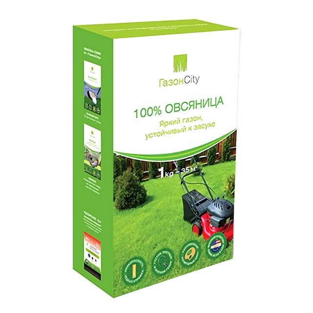 семена газонной травы Овсяница 100% 1кг семена газонной травы плейграунд 1кг