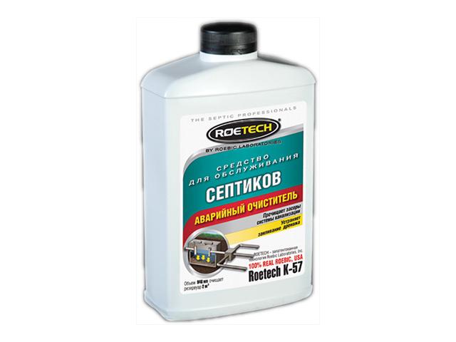 средство ROETECH для очистки септиков (аварийный очиститель) 946мл