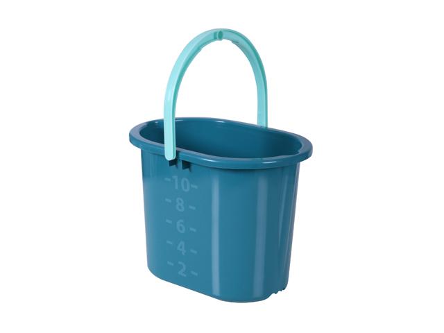 ведро HAUSMANN 10л овальное пластик в асс-те ведро без крышки пластик 10 л в асс те