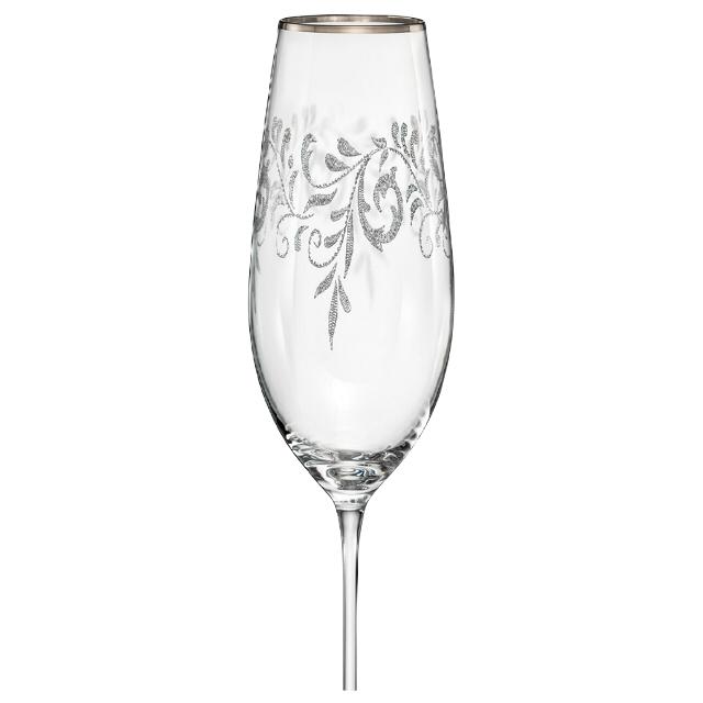 набор бокалов CRYSTALEX Виола Romantic 6шт 190мл шампань стекло