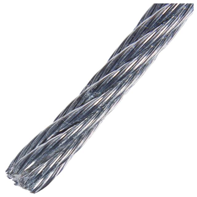 трос DIN 3055 2мм 10м сталь