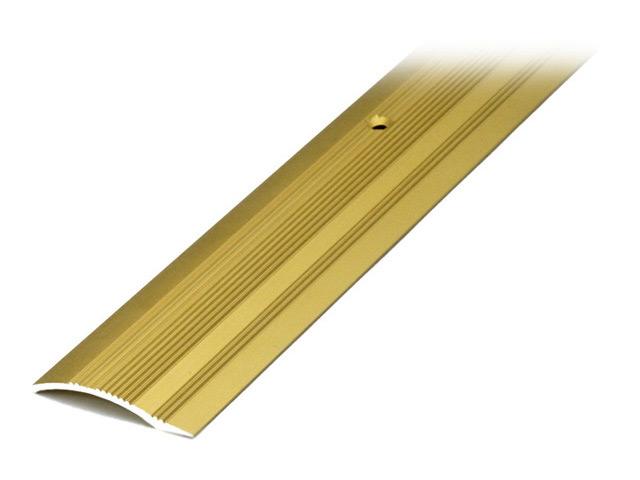 порог алюм. разноур. 39,4/10мм 0,9м анод. золото порог алюм разноур 39 4 10мм 0 9м анод бронза