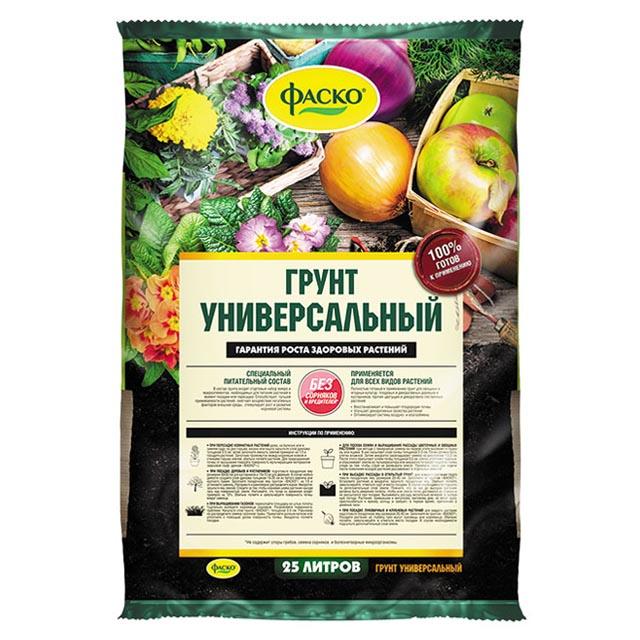 почвогрунт ФАСКО универсальный 25л