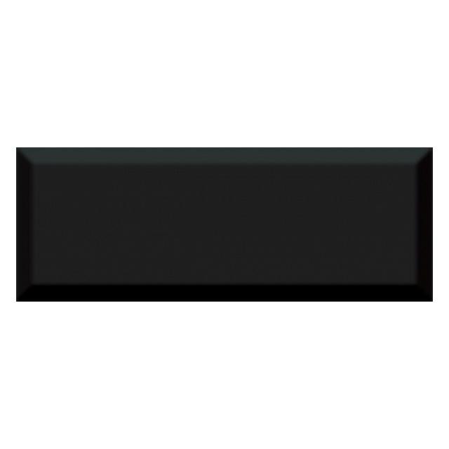 плитка настенная 15х40 ВИЛЛАНЕЛЛА грань, черный настенная плитка ibero navywood sky 29х100