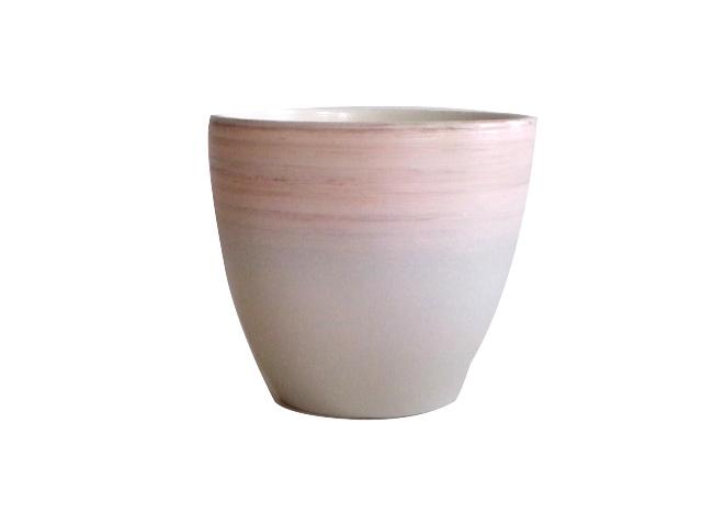 горшок керамический с поддоном 4,7л