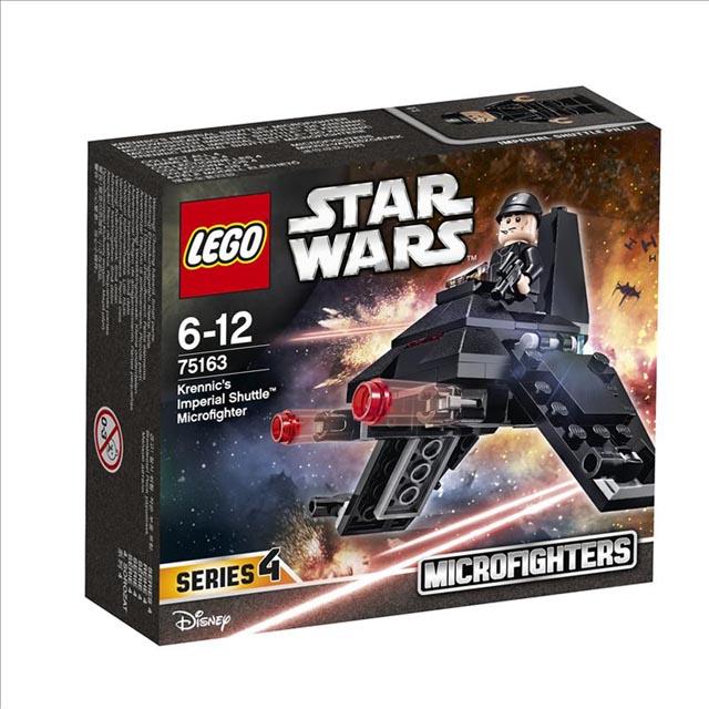 конструктор LEGO Звездные войны Микроистребитель Имперский шаттл Кренника lego игрушка звездные войны флэш спидер