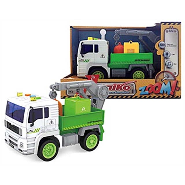 игрушка TAIKO Мусоровоз, на батарейках, в асс-те
