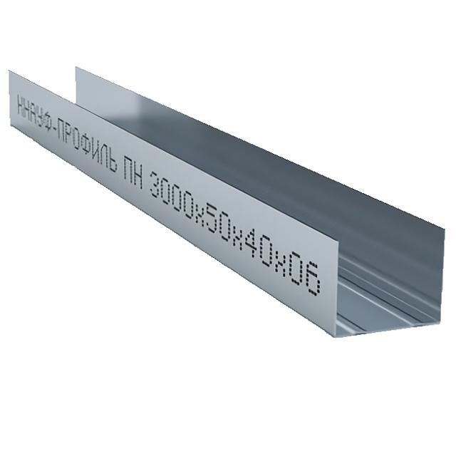 профиль направляющий 50х40 мм 3 м 0,6 мм Кнауф профиль потолочный оптима 60х27 мм 4 м 0 40 мм