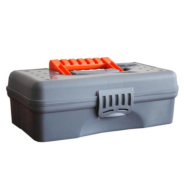 органайзер BLOCKER 12 295х180х90мм серый/оранжевый blocker 265 155 140