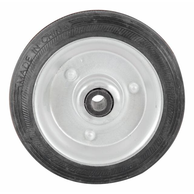 колесо металлическое 100мм резина