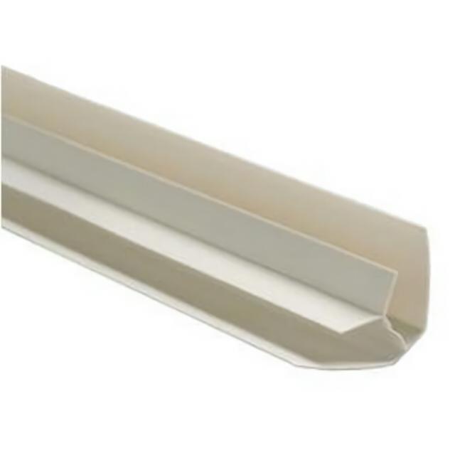 профиль для панелей ПВХ, угол внутренний, 3 м, белый профиль примыкающий оконный пвх 6 мм белый 2 4 м