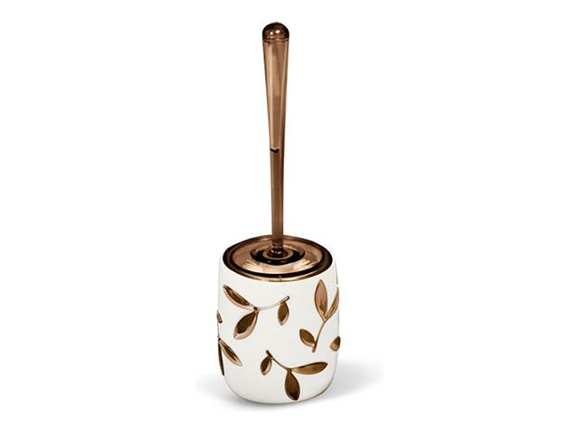 гарнитур для туалета TATKRAFT Immanuel olive, напольный, коричневый