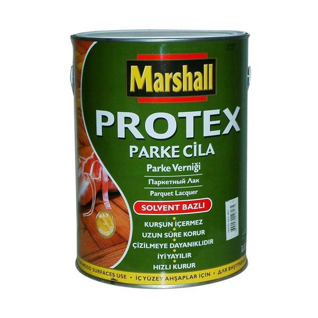Фото - лак паркетный PROTEX Parke Cila 90 глянцевый 2,5л, арт.5255006 лак marshall protex parke cila 40 алкидно уретановый бесцветный 2 5 л