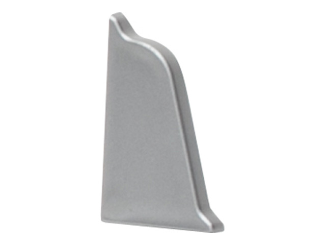 заглушка для плинтуса LP1 серебряный 0R левая+правая