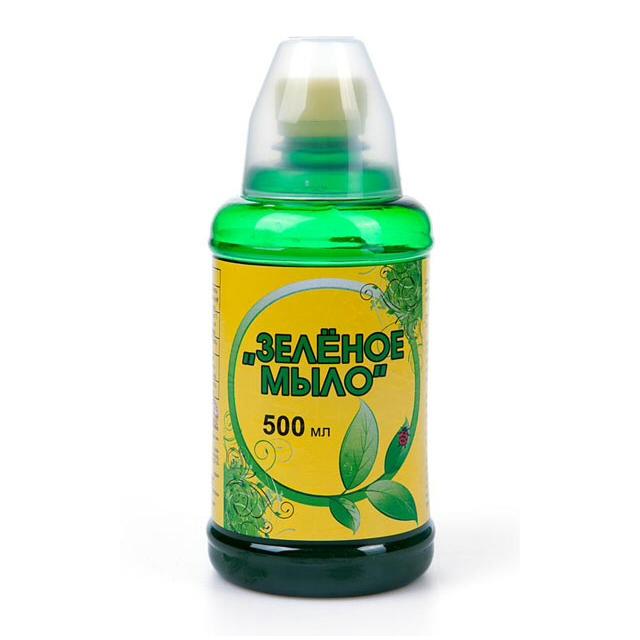 средство для защиты растений от вредителей и болезней Зелёное мыло 500мл