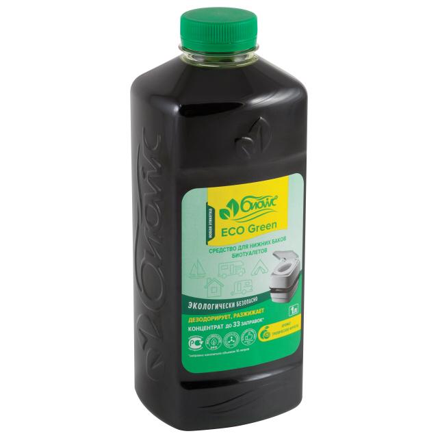 жидкость БИОwc ECO Green для нижнего бачка, 1 л
