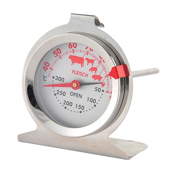 термометр для мяса WALMER Vegan сталь, стекло