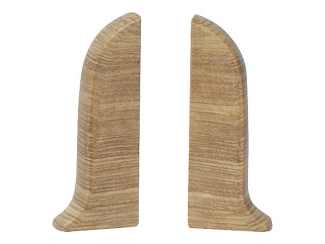 Фото - заглушки для плинтуса ПВХ SALAG NGF 56мм Дуб каньон левая+правая заглушки для плинтуса пвх salag ngf 56мм дуб каньон левая правая