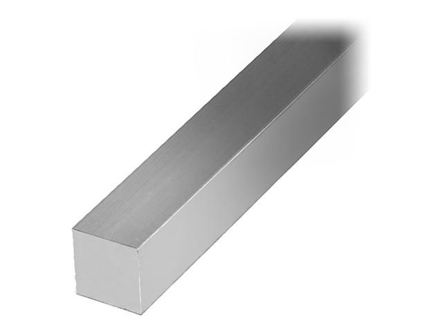 пруток алюминиевый квадратный серебро 12х12х2000мм
