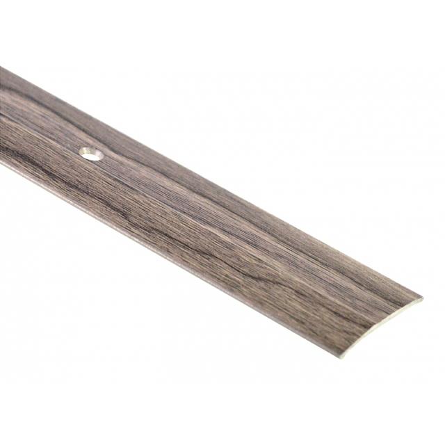 порог алюм. стык 37мм 1,8м декор. сосна серебристая А5 порог одноуровневый стык самоклеящийся 0 9 м цвет ольха