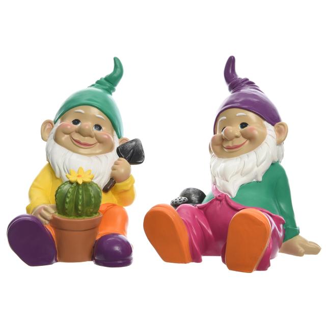 фигура садовая Гном сидит 24см полистоун в асс-те виниловая пластинка boney m boonoonoonoos