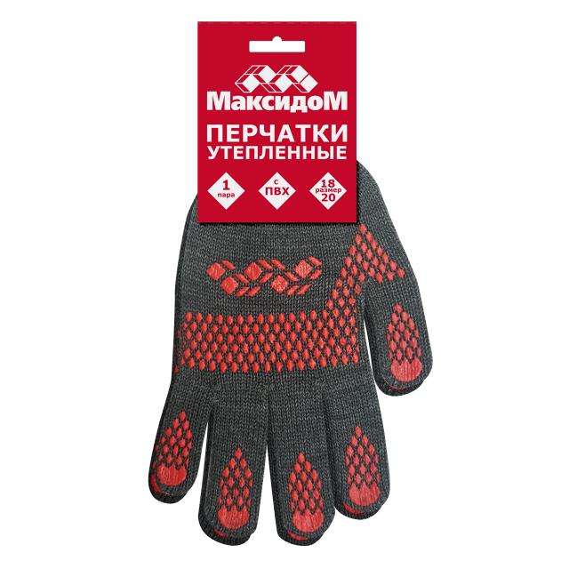 перчатки Максидом с ПВХ утепленные перчатки утепленные newton per48 русские львы