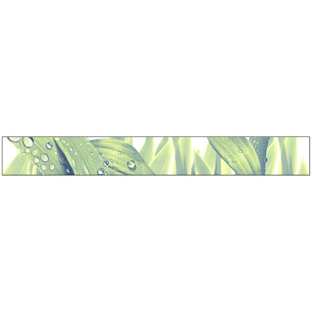 бордюр настенный 40,5х5 ЭЛАРА триумф, листья