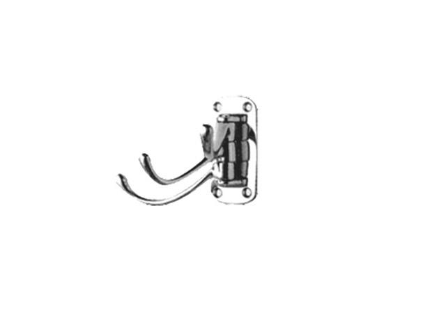 крючок поворотный тройной LEDEME L208-3