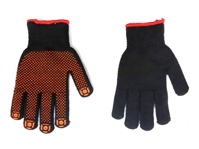 перчатки полиакриловые с ПВХ утепленные