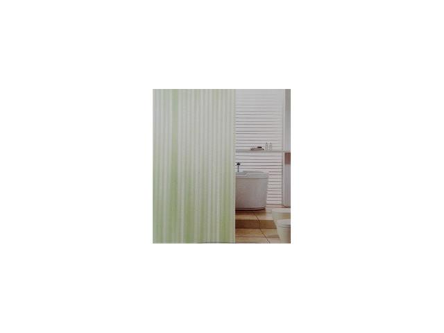занавеска для ванной OFELIS 180х180 см, полиэстер, зеленая