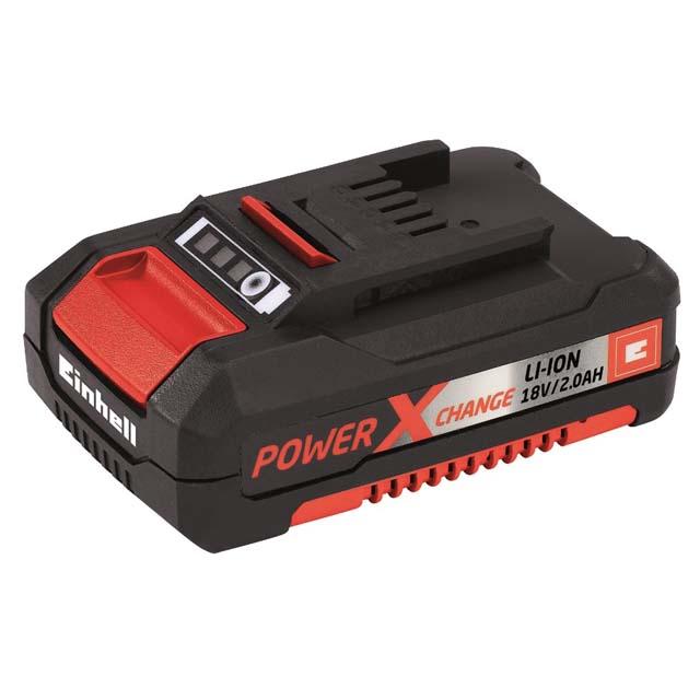 аккумулятор EINHELL 18В Li-ion 2,0Ач POWER X-CHANGE набор зарядное устройство акб einhell 18в 3 0ач li ion power x change
