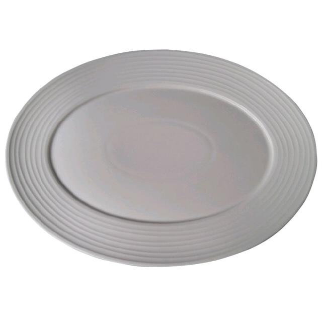 блюдо TUDOR ENGLAND Royal Circle овальное, 32х24 см, фарфоровое недорого