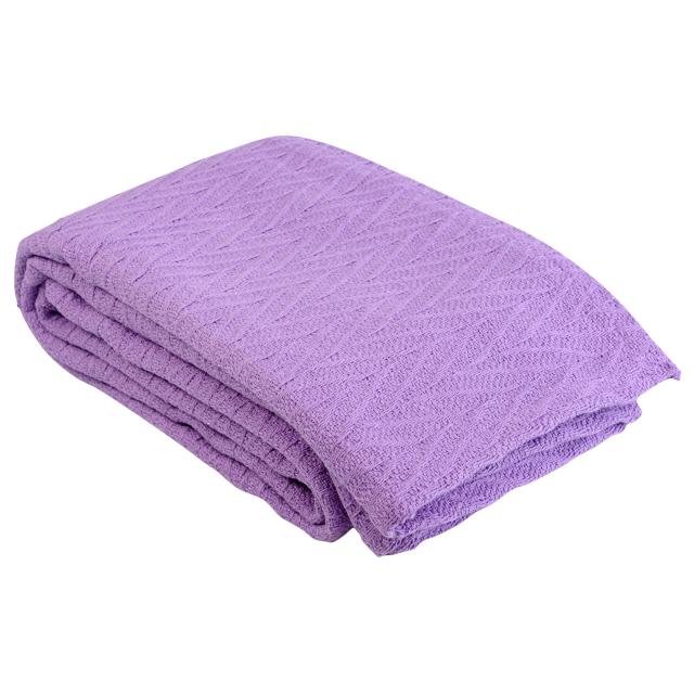 покрывало Корона Ирис 160х220см фиолетовое, арт.1.114.3