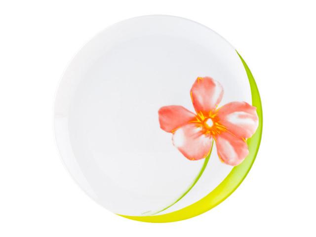 тарелка обеденная LUMINARC Sweet Impression, 25см, стекло тарелка обеденная зелия колорама йеллоу 25см стекло