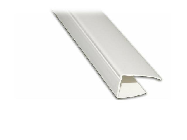 профиль для панелей ПВХ, финишный, 3 м, белый профиль примыкающий оконный пвх 6 мм белый 2 4 м
