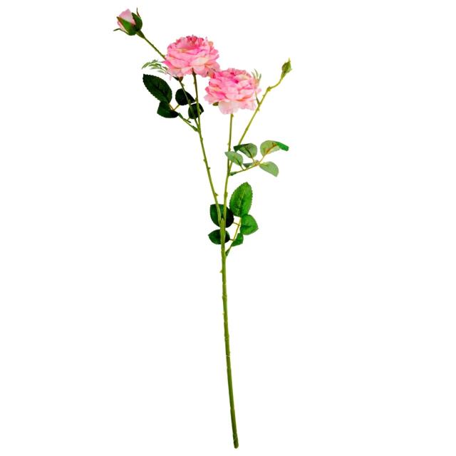 растение искусственное Роза пионовидная 64,5см растение искусственное роза ветка 70см