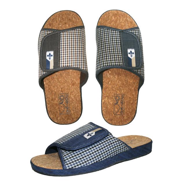 тапочки домашние DOMINO мужские р-р 41-45 posieo мужские противоскользящие домашние тапочки сандалии босоножки