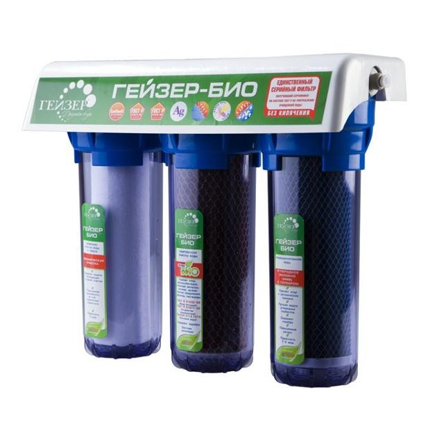 фильтр проточный стационарный Гейзер-3 БИО 312
