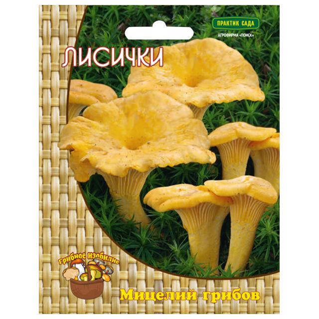 мицелий грибов Лисички 60мл цена 2017