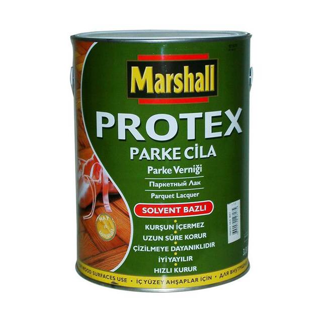 Фото - лак паркетный PROTEX Parke Cila 40 полумат 2,5л, арт.5255232 лак marshall protex parke cila 40 алкидно уретановый бесцветный 2 5 л
