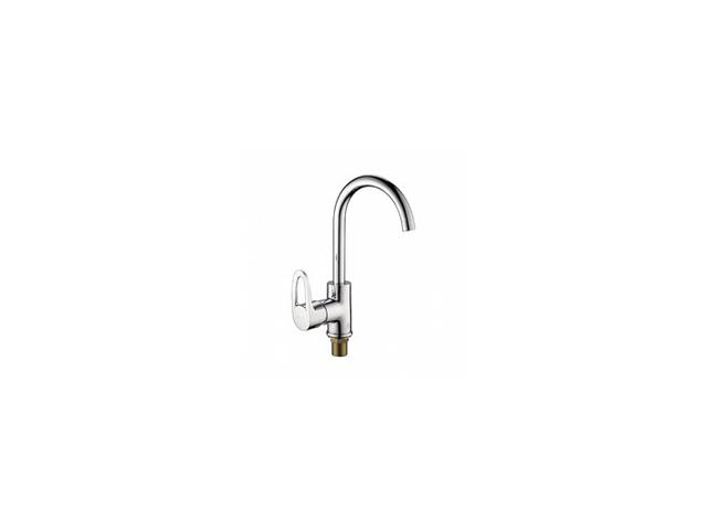 смеситель д/кухни LEDEME L4057-2 высокий излив  смеситель ledeme l4134 2
